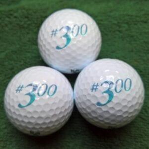 Sleeve #300 Golf Balls